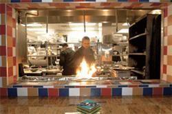 The kitchen at Wapango, circa 2006 - JENNIFER SILVERBERG