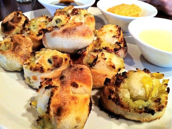 Tough to beat warm bread bites like these. - BRYAN PETERS