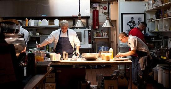 The kitchen of Little Country Gentleman - JENNIFER SILVERBERG