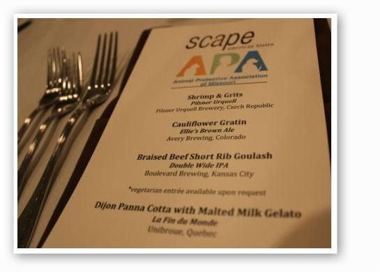 A menu fit for royalty.   Pat Kohm
