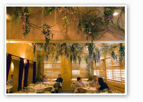 The dining room at Harvest. | Jennifer Silverberg