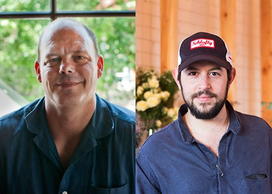 Kevin Nashan, left, and Ben Poremba are both semifinalists for the JBFA's Best Chef: Midwest category. | Caroline Yoo, Mabel Suen
