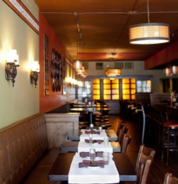 Inside Bocci Bar, one of the restaurants Brian Hale will now oversee. - JENNIFER SILVERBERG