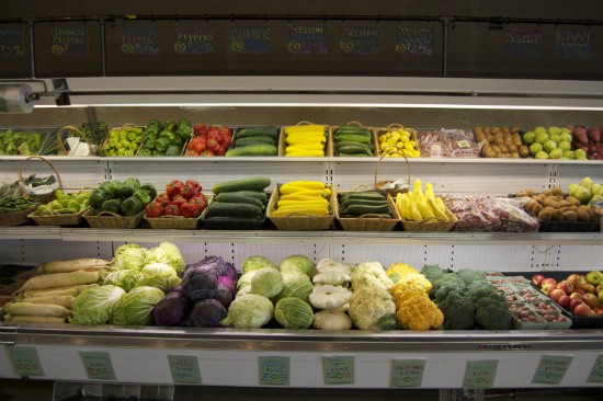 Fresh, vibrant produce abounds at Local Harvest Grocery. - LIZ MILLER