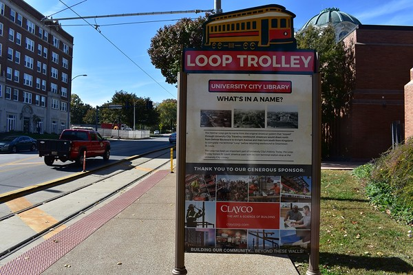Signage! The Loop Trolley has signage. - DANIEL HILL