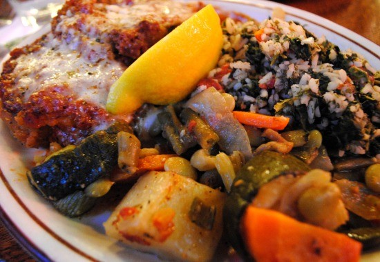 Vegetarian platter from Olympia Kebob House and Taverna - JULIA GABBERT