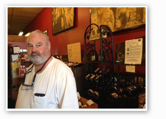 Sanford Rich at Kopperman's. | Nancy Stiles