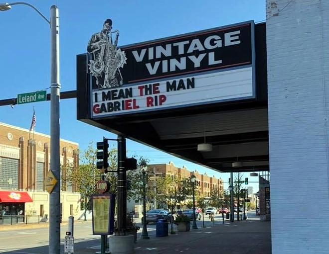Vintage Vinyl remembers the man, the legend. - MAT WILSON