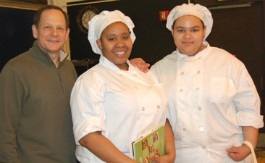 Mayor Francis Slay with 2012 Cooking up Change St. Louis winners at last year's competition. - IMAGE VIA