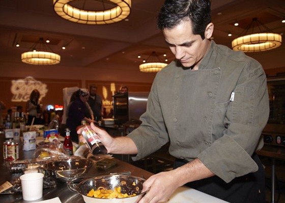 Chef Jason Tilford at Iron Fork 2012. | Steve Truesdell