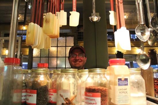 Head chef Mike Warhover in the Baileys' Range kitchen. - MABEL SUEN