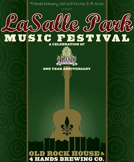 LaSalle Park Music Festival - Saturday @ 4 Hands Brewing Company