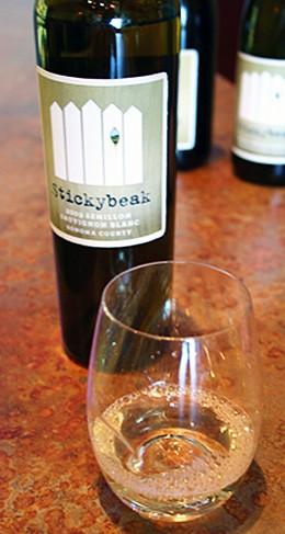 Stickybeak Semillon Sauvignon Blanc: Australian slang, California wine. - KATIE MOULTON