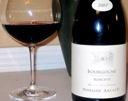 Say a hearty hello to 2007 Domaine Arlaud Bourgogne Rouge Roncevie
