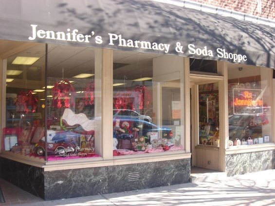 Jennifer's Pharmacy and Soda Shoppe in Clayton. | Jennifer Silverberg