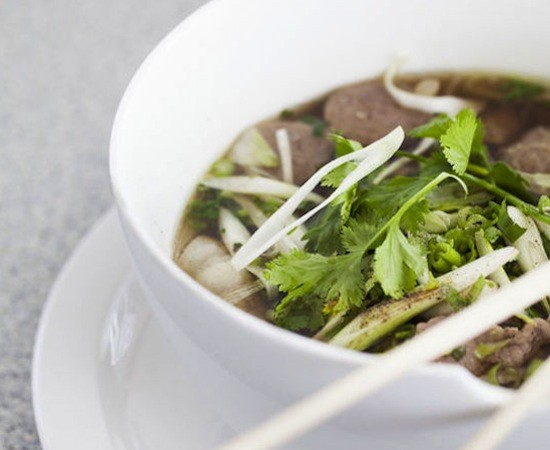 A bowl of pho at St. Louis Pho - JENNIFER SILVERBERG