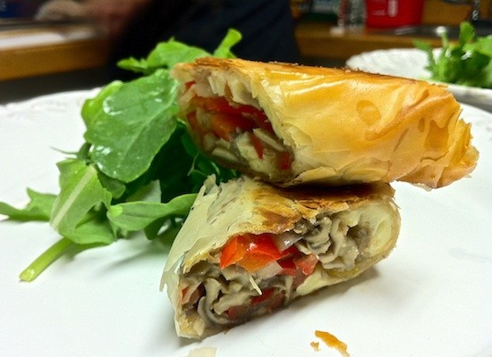Stone Soup's Veggie Strudel - BRYAN PETERS