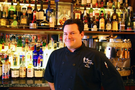 Tim Krampe of Frank Papa's: His Chocolate Martini inspires true love. For real. - KATIE MOULTON