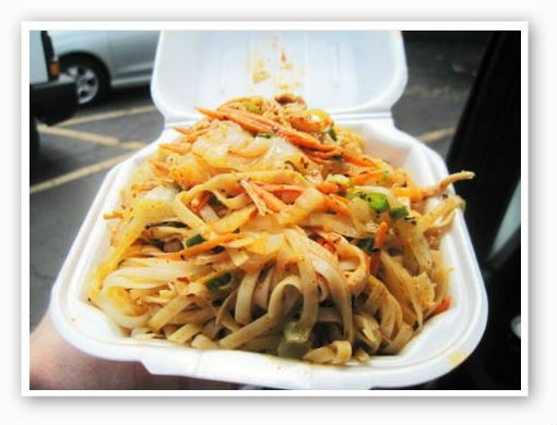 "Famous Zechuan's ""House Spicy Noodles""   Ian Froeb"