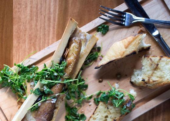 Escargots a la moelle at Tripel. | Jennifer Silverberg