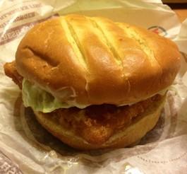 In this corner, Burger King's Premium Alaskan Fish Sandwich. - EVAN C. JONES