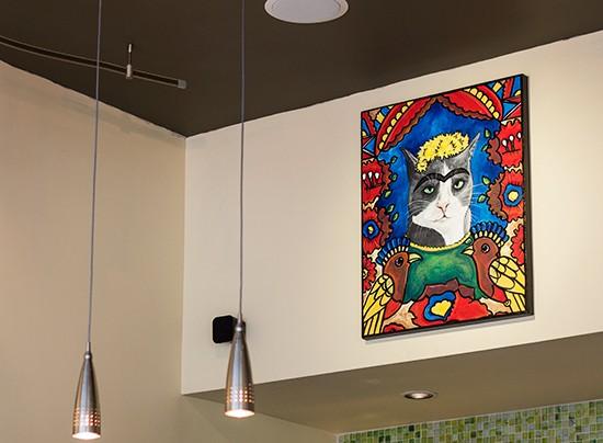 Frida, the cat (presumably). | Mabel Suen