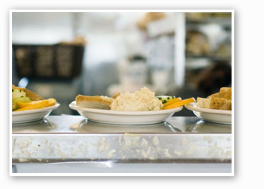 Hummus plates at Local Harvest Cafe. | Jennifer Silverberg