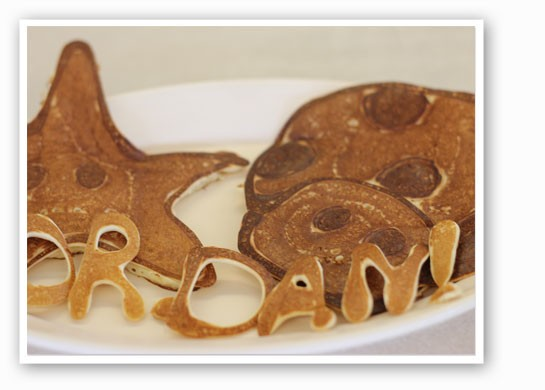 The 1Up pancake. | Nancy Stiles