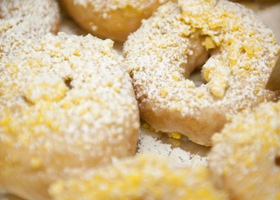 The gooey butter doughnut. | Jon Gitchoff