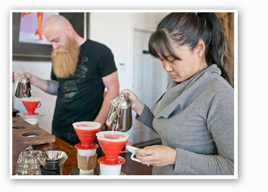 Grab a pour over with a side of Lulu's. | Crystal Rolfe