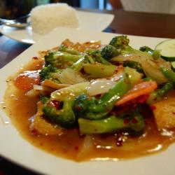 Broccoli stir-fry. - ETTIE BERNEKING