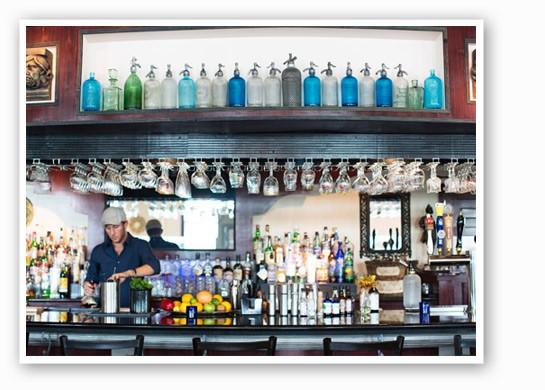 Behind the bar at Tripel. | Jennifer Silverberg