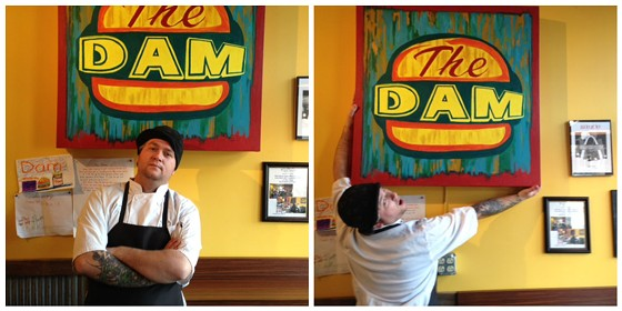 Chef Matt Galati of the Dam. | Cheryl Baehr