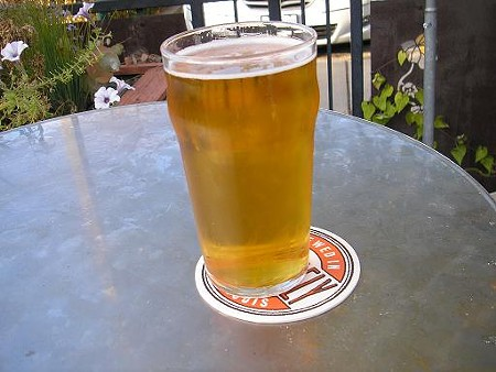 A glass of Kölsch at the Schlafly Bottleworks - IAN FROEB