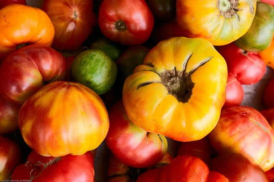 "You say ""tomato,"" we say, ""heirloom tomatoes."" - IMAGE CREDIT"