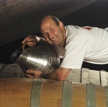 Monsieur Chermette, in his element. - WWW.VINS-DU-BEAUJOLAIS.COM