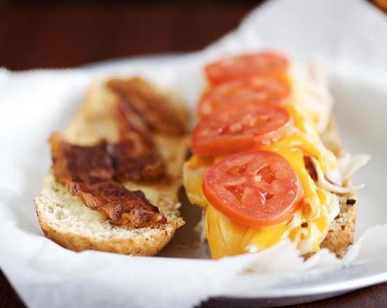 "The ""Tamm Avenue Turkey"" sandwich at Nora's - JENNIFER SILVERBERG"
