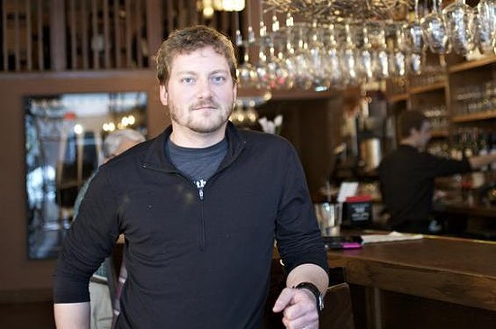 David Bailey has added a burger joint to his roster of restaurants. - JENNIFER SILVERBERG