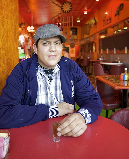"""Las Palmas' young owner, Edwin Steve Suarez, who usually just goes by """"Steve"""" shares responsibilities with his mother, Veronica Morales. The pair still operates the successful Las Palmas in Woodson Terrace. The family sold the Las Palmas in Overland to another family years ago. See the full slideshow here. - PHOTO: JENNIFER SILVERBERG"""