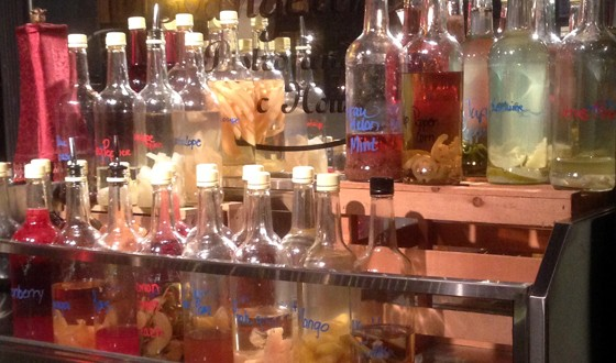 House-infused rums. | Patrick J. Hurley