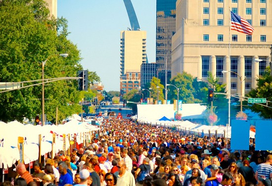 Taste of St. Louis is downtown this weekend.