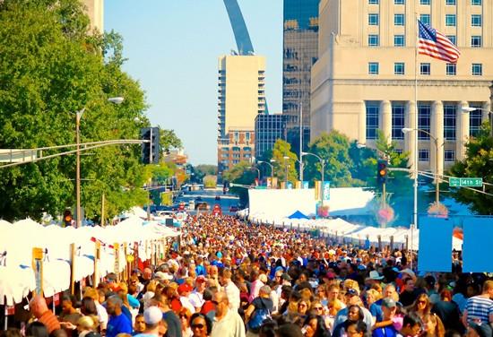 Taste of St. Louis is downtown this weekend.