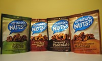What-A-Ya Nuts?! currently comes in four flavors, although Sher says that more are always in the works. - JULIA GABBERT