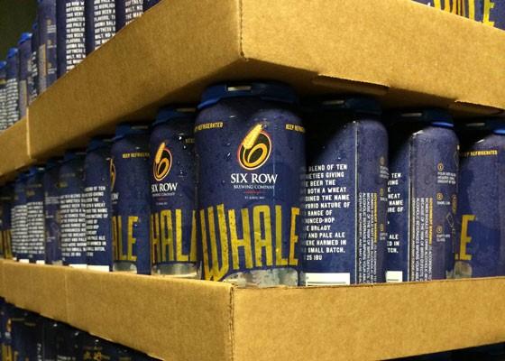Whale cans ready to go. | Evan Hiatt