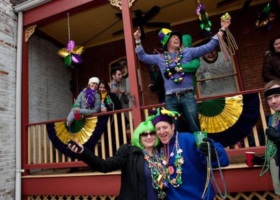 Mardi Gras 2014. | Jon Gitchoff