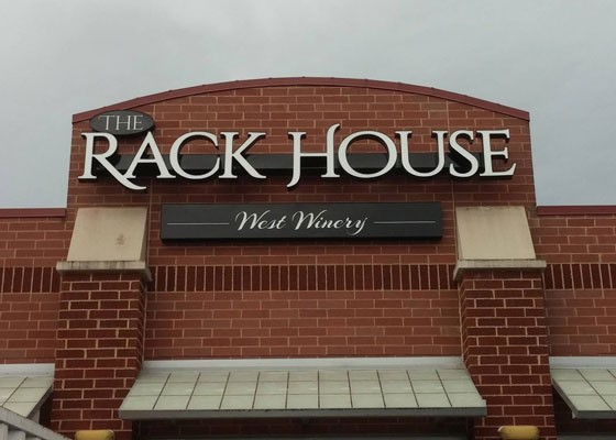 The new urban winery. | Rack House West Winery