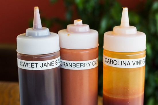 House sauces.
