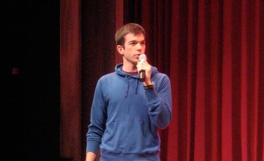 John Mulaney's show is sponsored by the St. Louis Area Foodbank. | Zena C
