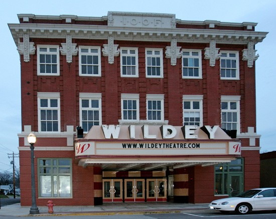Edwardsville's historic Wildey Theatre - IMAGE VIA