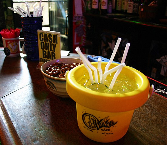 Brite-O Bucket and snacks at the Venice Cafe - KATIE MOULTON